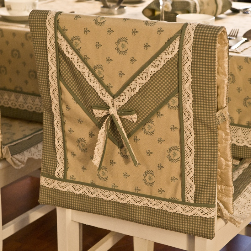 Dining Table Cloth Fluid Small Canvas Chair Set Covers Back Cover Cushion Tablecloth Runner