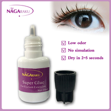 10ml,Fast dry, low odor, no simulation,lash glue, eyelash glue,eyelash extension glue(China (Mainland))