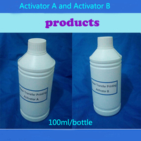 100ML/Bottles Hydrographics Activator For Water transfer printing film Activator with A and B