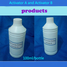 100ML/Bottles Hydrographics Activator For Water transfer printing film Activator with A and B(China (Mainland))