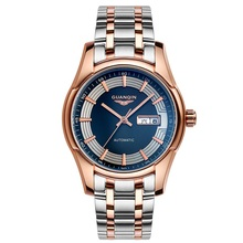 Origianl GUANQIN Business Casual Men Watches Top Brand Luxury Waterproof Automatic Mechanical  Stainless Steel Men Wristwatches