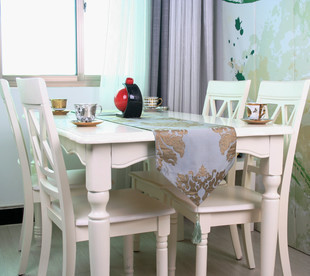 The New Classical Mediterranean Style Desk Bed's Wholesale Modern Minimalist Fashion Gift Custom Table Cloth(China (Mainland))