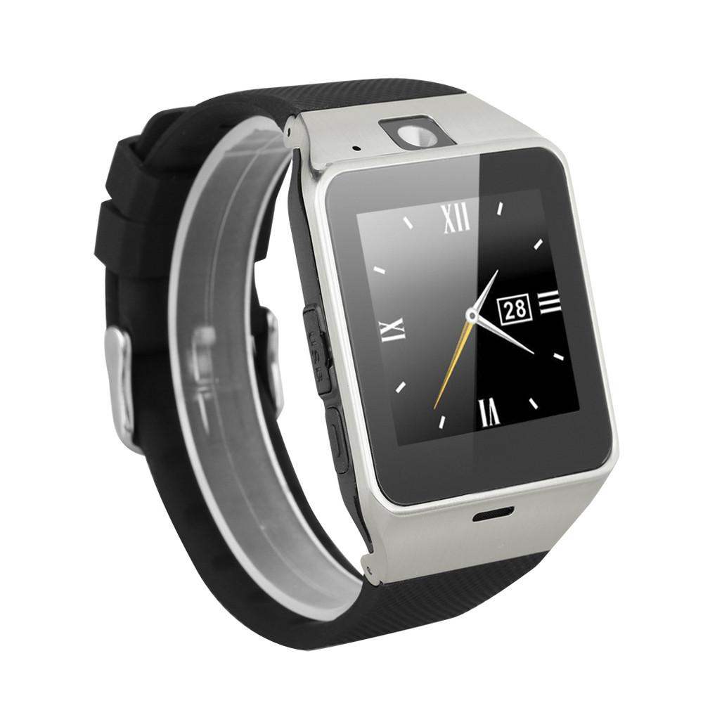 ถูก บลูทูธสมาร์ทนาฬิกาA Plus GV18นาฬิกาซิงค์แจ้งเตือนสนับสนุนซิมการ์ดการเชื่อมต่อS Mart W Atchนาฬิกาข้อมือสำหรับโทรศัพท์