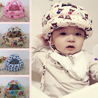 Free Shipping Toddler No Bumps Adjustable Child Caps Kids Hats Baby Walking Learning Safety Helmet Headguard Head Caps