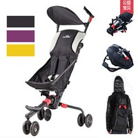 High Quality fold in backpack Baby Stroller,Small Fold Pram In Plane Box Bag To Travel,3 Color Available