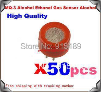 50pcx MQ-3 Alcohol Ethanol Gas Sensor Alcohol Gas Detector