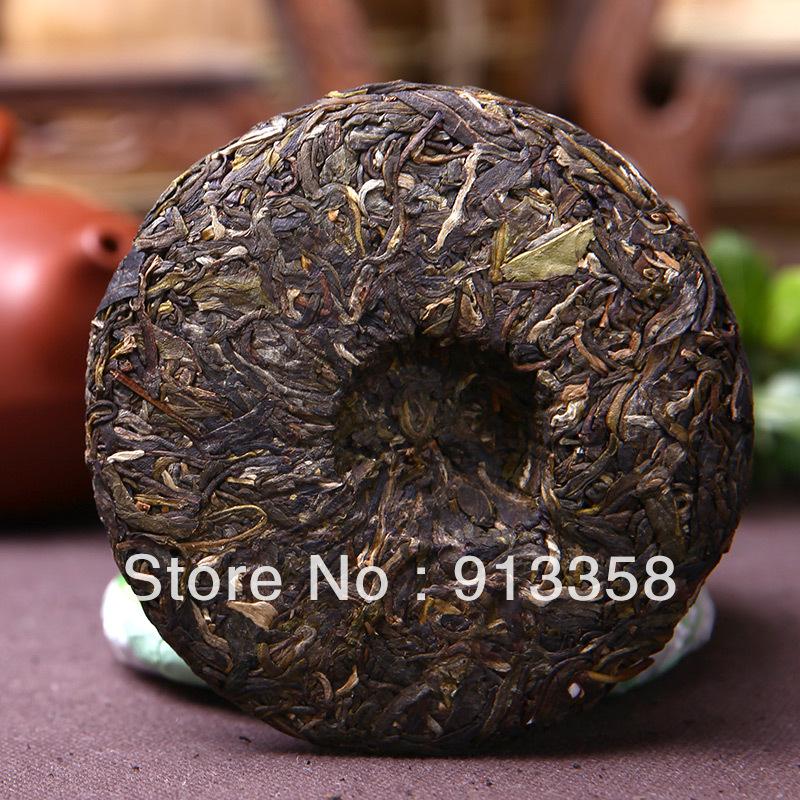 New Coming 2012yr Jipu tea most Pu er raw tea cake 100g health raw cake tea