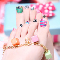 Toe Foil stickers manicure decals Jamberry Nail wraps art template nails Adhesive patch Long Wearing Waterproof  design unghie