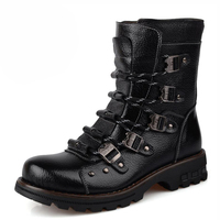 men boots genuine leather boots breathable men shoes outdoor military boots