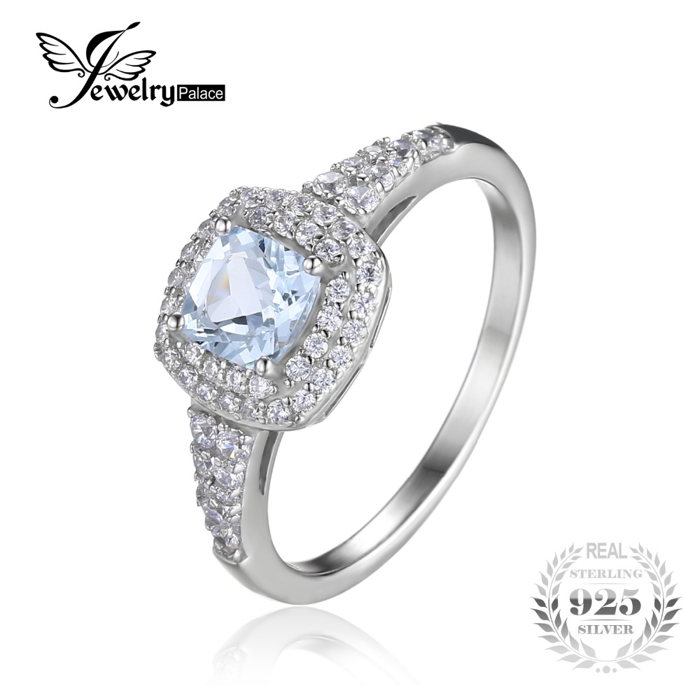 get cheap aquamarine engagement ring aliexpress