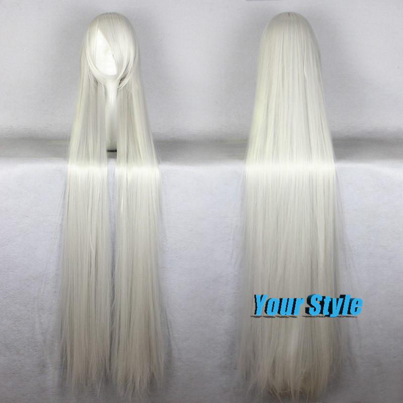 Здесь можно купить  150 CM Prices Long Hair Wigs  Long Silver White Cosplay Wig Peruca Cosplay Perruque Synthetic Women 150 CM Prices Long Hair Wigs  Long Silver White Cosplay Wig Peruca Cosplay Perruque Synthetic Women Волосы и аксессуары