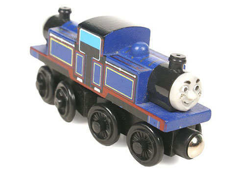 Thomas And Friends Train Car Wooden Car Toy Engine Train Toys No.07 MIOHTY(China (Mainland))