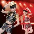 Hot Sale Children s Sets Tuxedo Jazz Dance Costumes for Girls Boys Modern Ballroom Dancewear Stage
