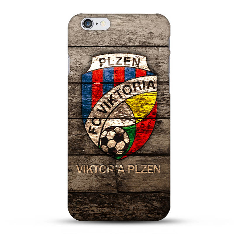 FC Viktoria Plzen Football Team Logo Hard Cell Phones Cover for Apple iPhone5 5s 5c i6 i6plus 4s and 4 With One Gift for choice(China (Mainland))