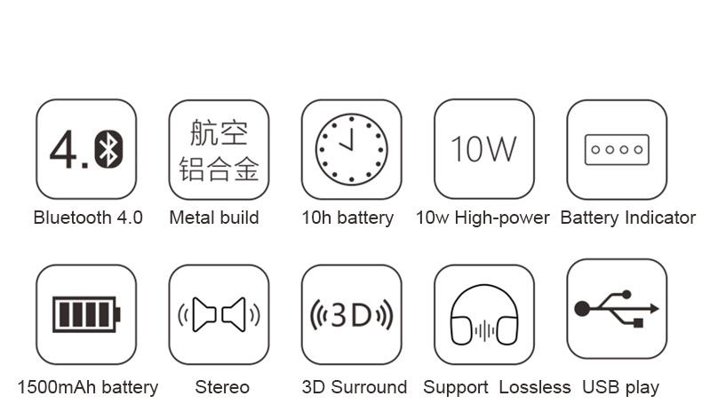 SKhifio fi Bluetooth Wireless Speaker for Phone Mini Portable Bluetooth Speakers Music USB TF for NoteBook Mp3 Laptop Xiaomi