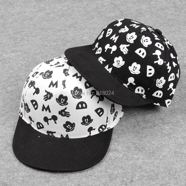 Бросился знаки шляпы для лето корейский версии дети в комикс животное шляпа хип-хоп бейсбол кепка лежа с собой