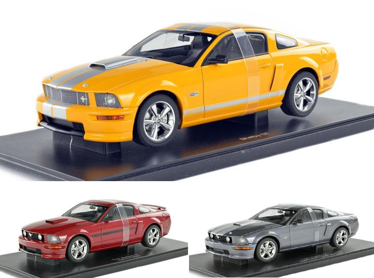 1:18 Autoart Alto Ford Ford Mustang Mustang 3 color special vehicle model(China (Mainland))