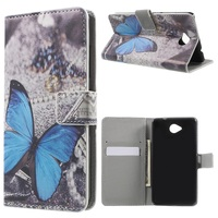 For Lumia 650 Wallet PU Leather Case for Nokia Microsoft Lumia 650 with Stand