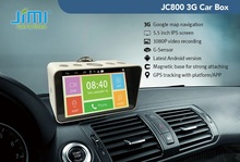JC800 Vehicle GPS Tracker Stand Alone 3G WIFI Android GPS Navigation and Portable Car DVR DashCam(China (Mainland))