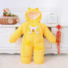 0-12M baby jumpsuit 2016 winter child boys girls clothes spring autumn baby Romper Kids Overalls Cotton Climb Clothes For Babies(China (Mainland))