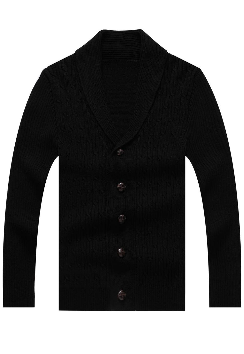 Black Cardigans For Men
