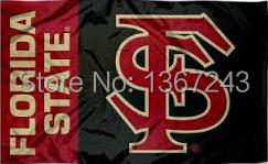 Florida State University Seminoles USA NCAA Flag 3X5 ft custom Banner 90x150cm Sport Outdoor AFSS6(China (Mainland))