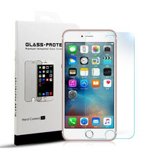 Tempered Glass Screen Protector for iPhone 7 7Plus 9H 2.5D Arc Edge Anti Fingerprint with Retail Package Protective Glass Film