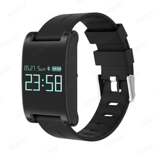 Buy DM68 Heart Rate Smart Watch Blood Pressure Monitor IP67 Waterproof Pedometer Fitness Tracker Smartwatch IOS Android for $54.89 in AliExpress store
