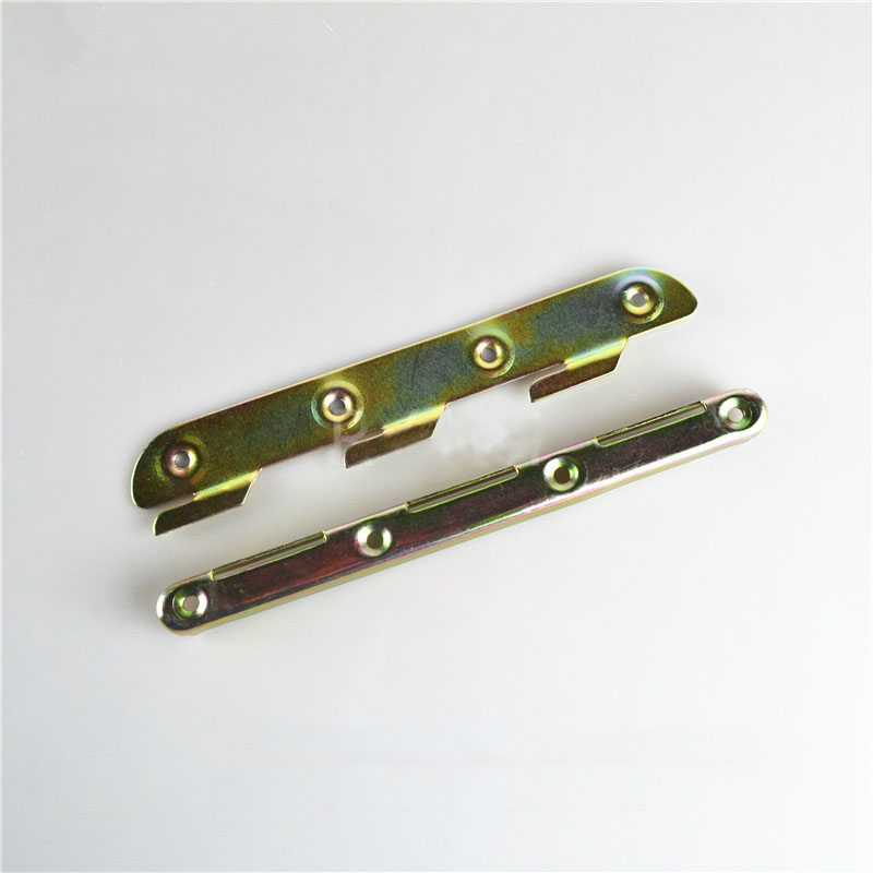 Kened lengthening lock type bed hinge connector bed accessories bed insert / bed corner hung KF657(China (Mainland))