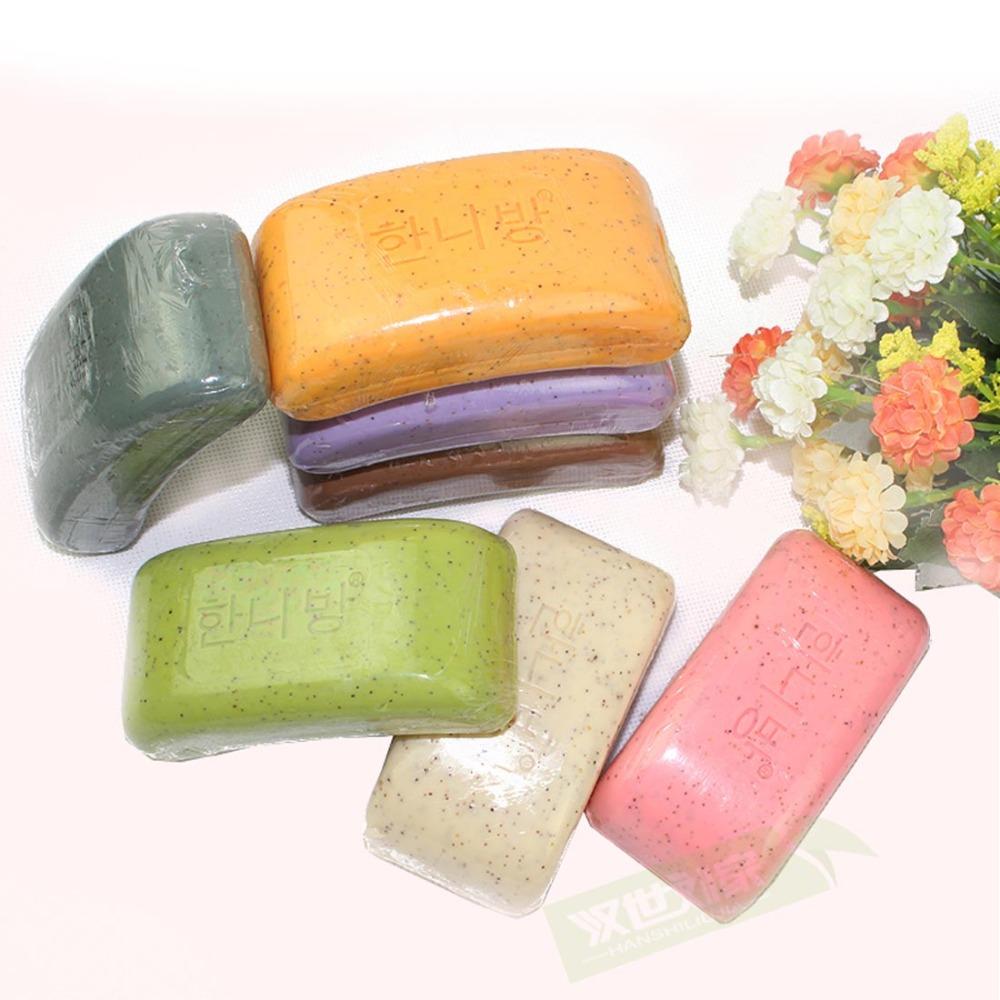 Natural Pure Manual Mud Soap Skin Whitening Soap to Ashes Soap Exfoliating Scrub Rub Mud Soap(China (Mainland))