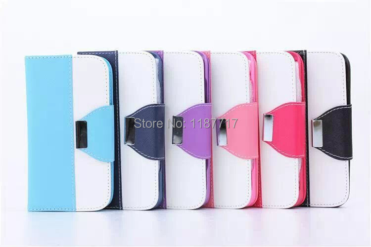 100pcs/lot free shipping Cross pattern Wallet Leather Case Cover For iPhone 6 6G 4.7 inch(China (Mainland))