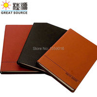 A5 Journal Leather cover excellent quality with embossed logo on front cover notepad