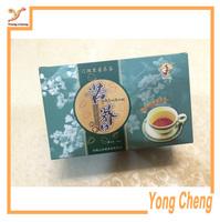 Customized/Paper packaging box for green tea/Tea box/Free shipping 1000pcs/lot