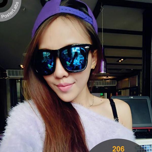 Oversized Mirrored Sunglasses  aliexpress com vintage oversized square sunglasses women