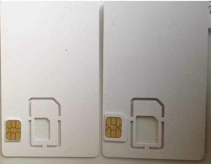 SIM USIM Card 4G LTE Blank Mini Nano micro SIM Card For Telecommunications Operator(China (Mainland))