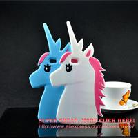 For Huawei Ascend P8 Lite Case Horse Cartoon Unicorn Soft Silicone Cell Phone Cases Covers Case