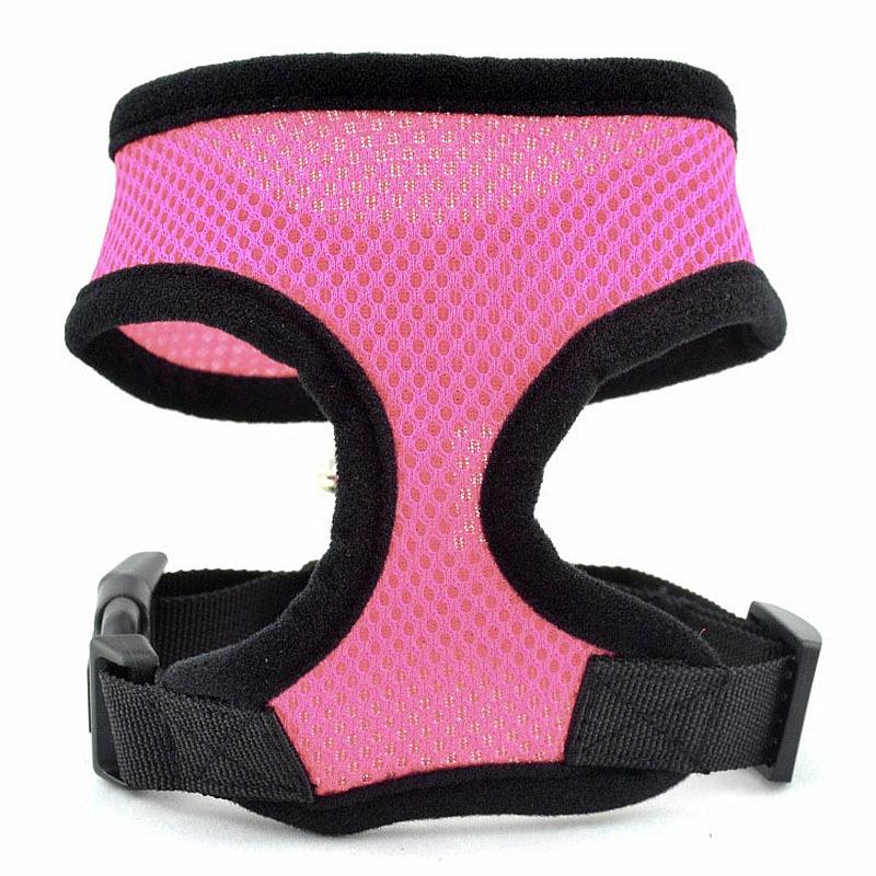 Comfort Soft Breathable Dog Harness Pet Vest Rope Dog Chest Strap Leash Set Collar Leads Harness Adjustable # G01065(China (Mainland))