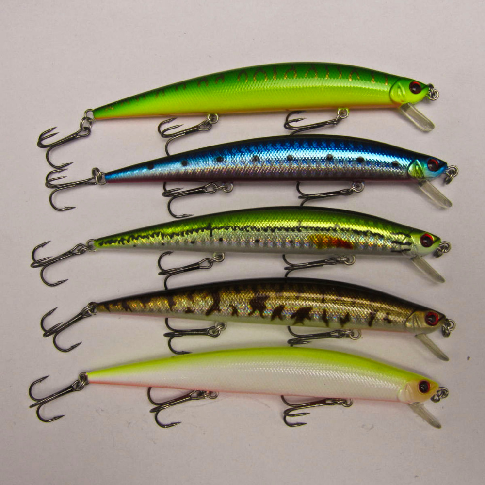 Crazy fish 1x fishing lure for bass pike bait shallow for Pike fishing lures