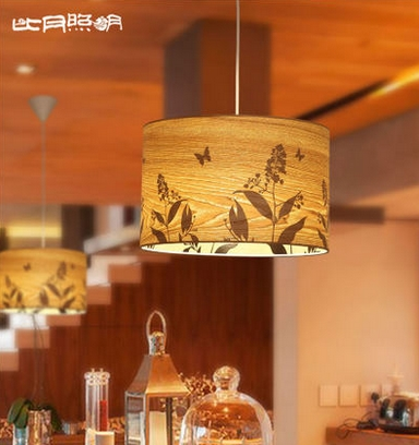 Southeast Asia personalized water song willow bark painting restaurant pendant lamp 3665(China (Mainland))