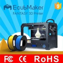 EcubMaker FANTASY  high quality hot sell  dual nozzles  3d printer
