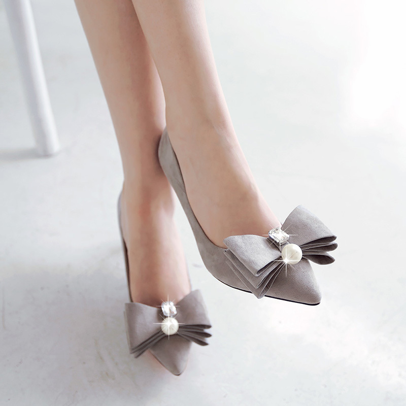 New arrival High quality Brand Design women shoes Fashion Thin heel Pointed Toe pumps Sexy Elegant high heel shoes woman<br><br>Aliexpress