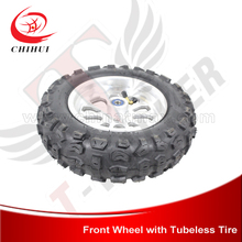 "Buy NEW Electric/Gas Scooter Aluminium Front Wheels 90/65-6.5 (12"")Tubeless Tire Brake Disc (Scooter Wheels) for $50.89 in AliExpress store"