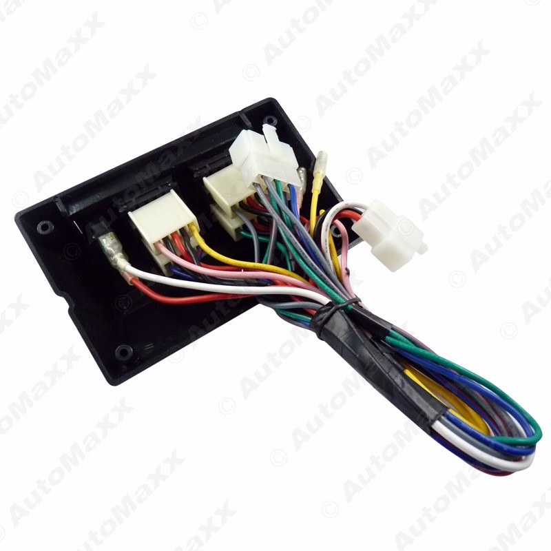 universal power window 8pcs switches with Holder and wire Harness #J-2469