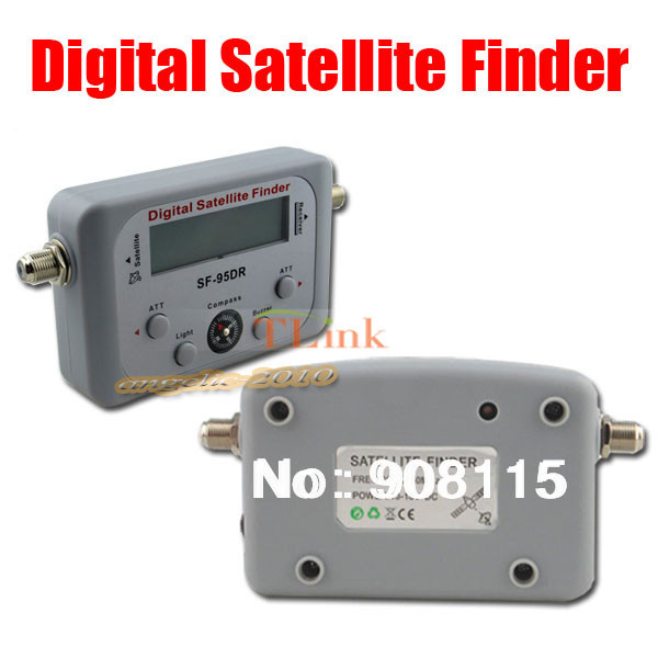 DBPOWER SF-95DR Digital Satfinder with LCD DIRECTV Dish FTA Digital Displaying For TV Satellite Finder Meter