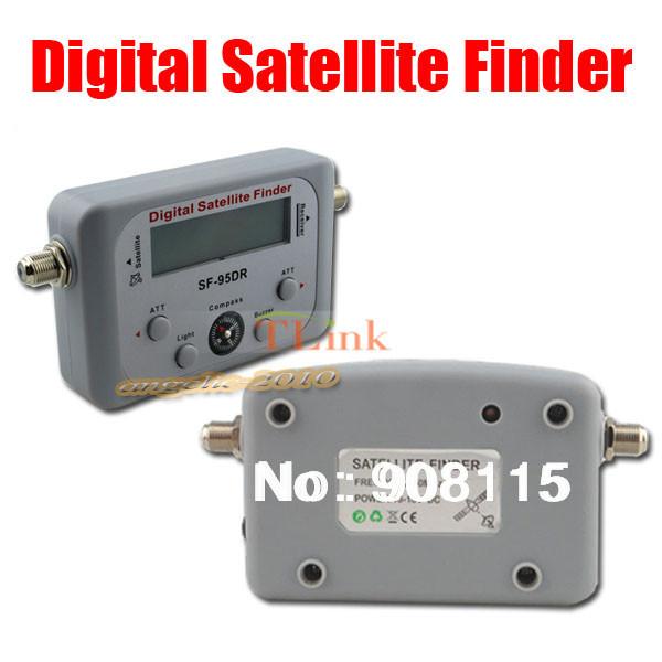 DBPOWER SF-95DR Digital Satfinder with LCD DIRECTV Dish FTA Digital Displaying For TV Satellite Finder Meter(China (Mainland))