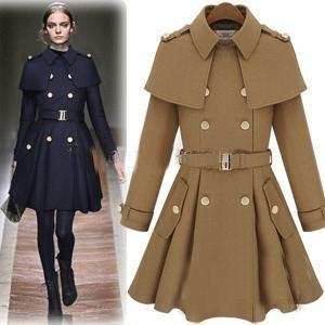 Duffle Coat Girl | Down Coat