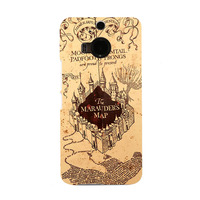 The Marauders Map Fresh New Coming Colorful Telephone Case for HTC M9 and M9 PLUS