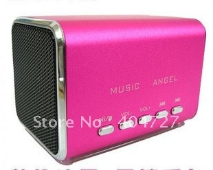 Brand New Mirco SD/TF card/USB drive Portable mini Speaker With FM Free Shipping