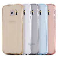2016 Smart Touch Screen Ultra thin Clear TPU Flexible Soft Double Cover Case For sumsung galaxy A310 A510 Phone Cases