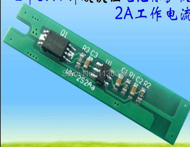 lifepo4 battery packs bms pcb pcm 2s 6.4v 7.2v 2A battery protection board high current(China (Mainland))